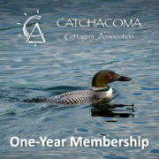 "loon with words ""one-year membership"""