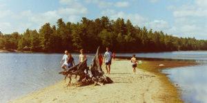 Cold Lake sandbar