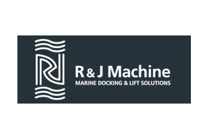 R & J Machine logo